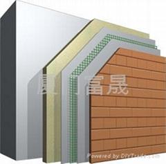 FBW改性聚氨酯硬泡體外牆外保溫系統