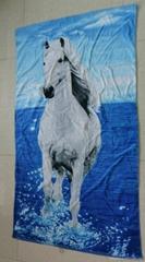 原單外貿出口 全棉活性印花浴巾