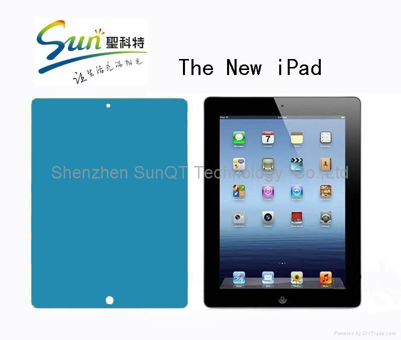 苹果iPad3保护膜 高清透明防刮膜  1