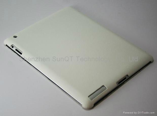 iPad3智能皮套 PU 休眠皮套 4