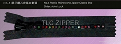 #5 Rhinestone Zipper