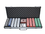 500poker chips set