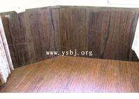 紫檀木纹石墙群板-石材线条-踢脚线