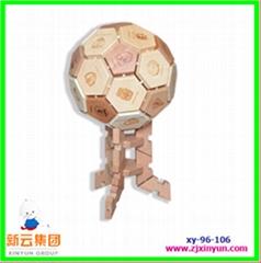 木制玩具,木制工艺品,木制足球
