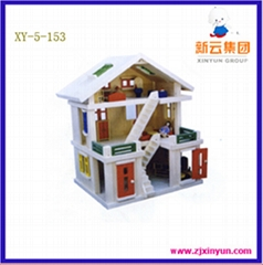 Wooden Toys,Wooden Natural House