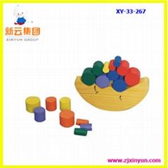 木製玩具,儿童玩具,月亮平衡