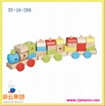 木制玩具,木制火车