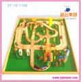 木制玩具,火车轨道(108ps