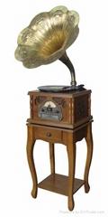 仿古電唱留聲機