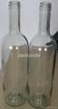Bourdeaux glass bottles