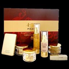micro-gold &grape whitening cosmetic set