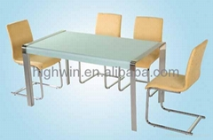Dining table(hwt-060)&dining chair(hwc-104)