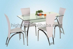 DINING TABLE(HWT-017)&DINING CHAIR(HWC-037)