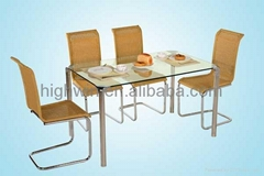 DINING TABLE(HWT-066)&DINING CHAIR(HWC-100)