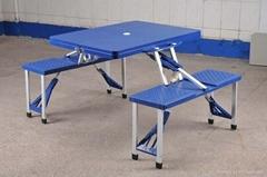 供應塑料折疊桌椅