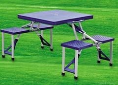 廠家直銷塑料折疊桌椅