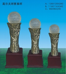 高爾夫賽事獎杯