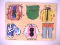木製玩具(衣服鞋子類)