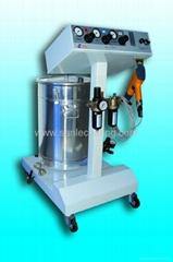 manual electrostatic powder spray gun for powder coating system