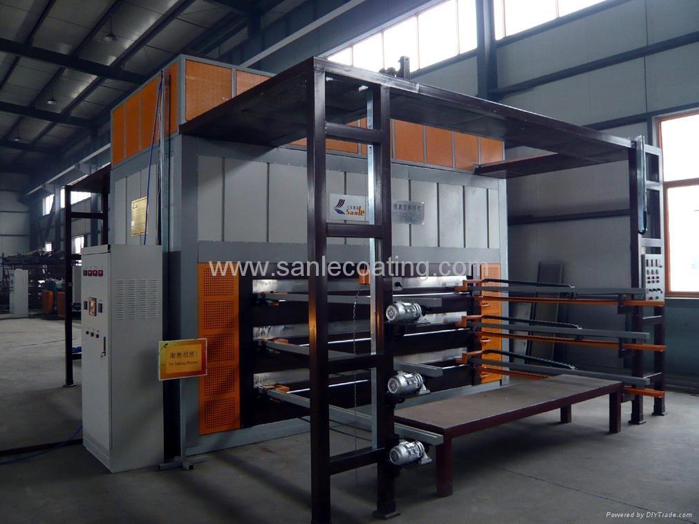 Wood Grain Decoration Machine For Steel Sheet Dye