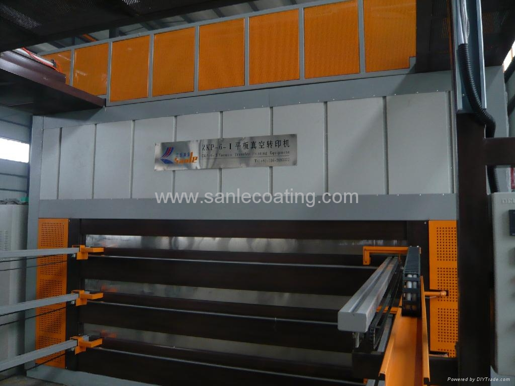Wood Grain Decoration Machine For Steel Sheet Dye