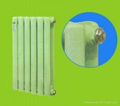Steel film title radiator