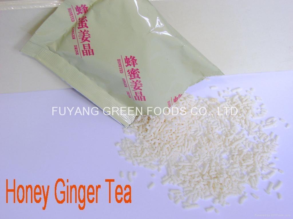 Instant honey ginger tea  1