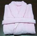 Cotton Terry/Velour Bathrobe