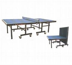 折叠式乒乓球台