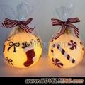 LED Christmas Candle