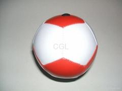 10-12CM soccer ball(12 panels)