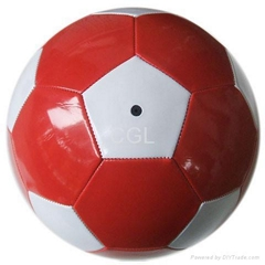 PVC promotional soccer ball