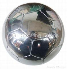 Shiny Soccer ball- like mirror