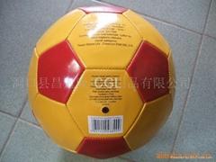Colorful PVC soccer ball/football