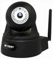 H.264 2MP WIFI Pan Tilt IR Robot IR Dome IP CAMERA with IR Cut Filter & TF Card