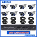 CCTV KIT 8CH H.264 Sony Waterproof CCD
