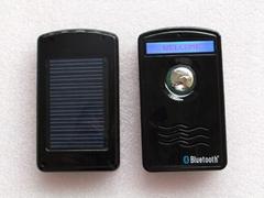 solar power bluetooth speakphone car kit caller ID