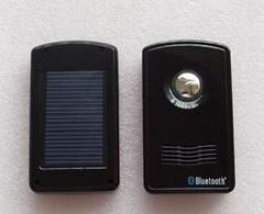solar power bluetooth speakphone car kit