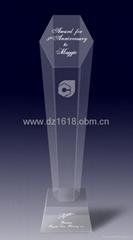 水晶獎杯獎牌
