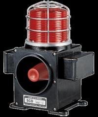 Heavy Duty LED Steady/Flashing Warning Light with Signal Phone