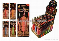 Color Flame Candles 1101#