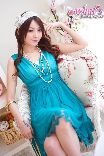 Fashion Women Sexy Clothing womens' dress CF2668 3