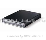 厂家供应新款仿SONY外观USB 2.0外置光驱DVD-RW