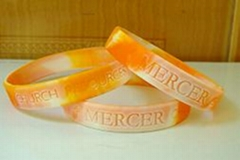 silicone bracelets and wristbands