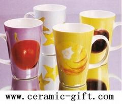 porcelain mug,tableware,ceramic cup & saucer,ceramic gift
