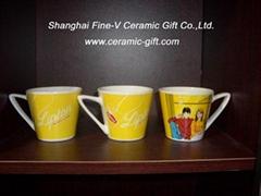 stoneware cup mug,ceramic porcelain tableware
