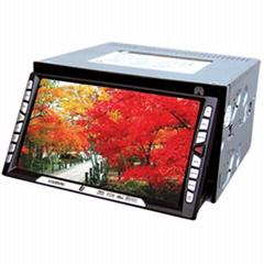 双定触摸式车载DVD+GPS导航+数字移动电视