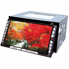 Double Layers Touch Screen Car Media System DVD+ GPS+TV