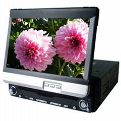 单定触摸式车载DVD+GPS导航+数字移动电视