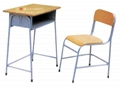 student desk and chair ,school desk,school chair,single student deskGT-22